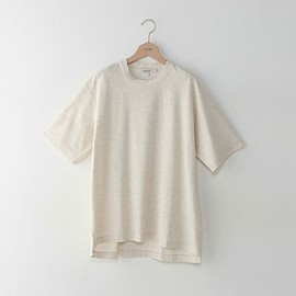 Steven Alan - SA CL FRENCH TERRY CREW Off White