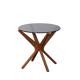 ACME - TRESTLES SIDE TABLE