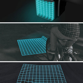 Lumigrids LED bike projector