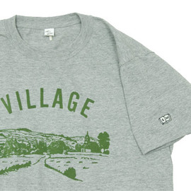 ENDS and MEANS - ENDS and MEANS VILLAGE Tシャツ