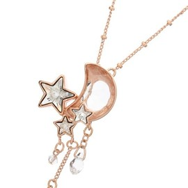 YOSHiKO☆CREATiON PARiS - moon star necklace