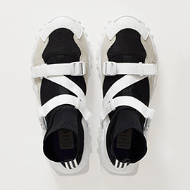 HYKE adidas originals - AOH-010 black/white/white