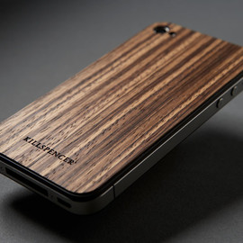 killspencer - IPHONE 4/4S ZEBRAWOOD VEIL