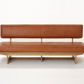karf - kano 3Seat Sofa Leather