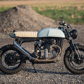 "Smyth Innovations - Honda CX500 Street Scrambler ""Filthy Cupcake"""
