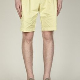 YMC - Men's Pleated Front Peg Shorts