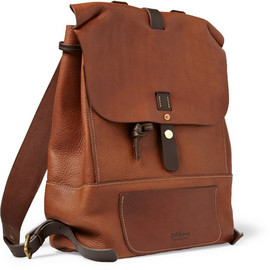 Bill Amberg - Bill Amberg Hunter Full-Grain Leather Backpack