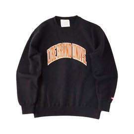 LIBE BRAND UNIVS. - COLLEGE SWEAT (Black)