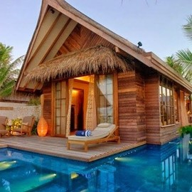 Maldives - Jumeirah Vittaveli Beach Villa with Pool Sunrise