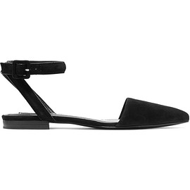 Alexander Wang - Lauren suede point-toe flats