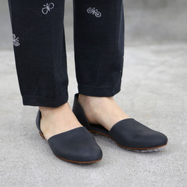 evam eva - leather separate shoes