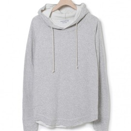nonnative - STUDENT HOODED PULLOVER – COTTON W FACE JERSEY