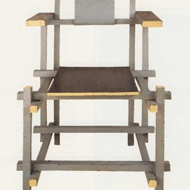 Gerrit Rietveld - Upright Chair