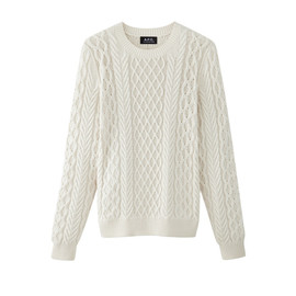 A.P.C. - CABLE STITCH JUMPER