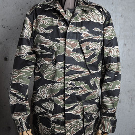 THE REAL McCOY'S - TIGER ADS FATIGUE JACKET