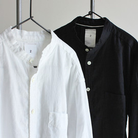 maillot - sunset 80 double stand collar shirts