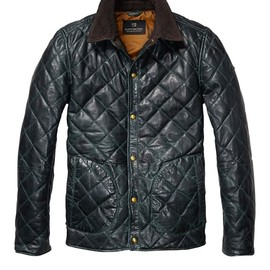 SCOTCH & SODA - Leather Quilted Jacket