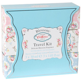 Cath Kidston - Travel Kit With Shower Gel Body Lotion Hand Crea