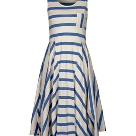 numph - Holiday Blue Stripe Jersey Dress