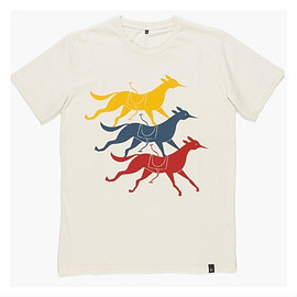 BY PARRA - T-SHIRTS HOUSE CLUB NATURAL