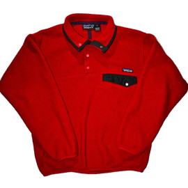 Patagonia - Vintage Red Patagonia Fleece Mens Size Small