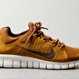 Nike - Free Powerlines+ II - Almond Brown/Mustard/Maize Yellow