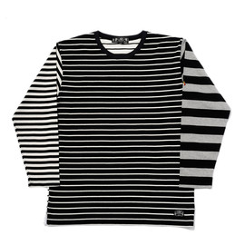 bal - BLOCK STRIPE LONG SLEEVE TEE