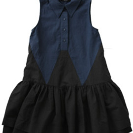 P.A.M. - Dance Dance Sleevelss Dress (nevy/black)