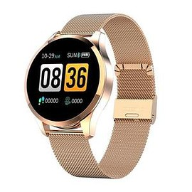 newwear - Newwear Q9 Fashion Business Waterproof Heart Rate Blood Pressure Monitor Fitness Bracelet