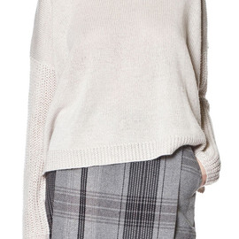 CHEAP MONDAY - Fuyu Sweater Pale Beige