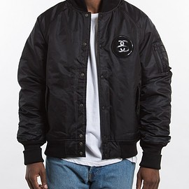 STUSSY, Fragment Design - SF Bomber Jacket - Black