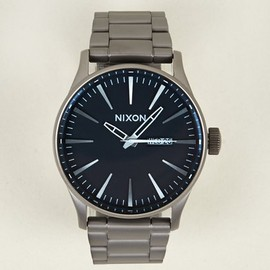 Nixon - Men's Gunmetal Sentry SS Watch