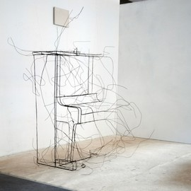 Fritz Panzer - wire sculptures