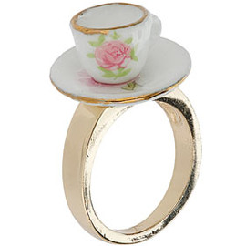 TOPSHOP - Jubilee Tea Cup Ring