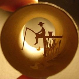 Anastassia Elias - Toilet Paper Roll Art
