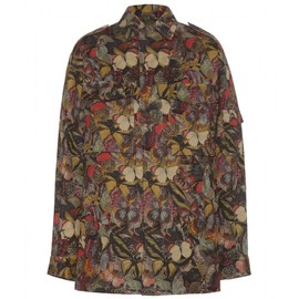 VALENTINO - RESORT2015 BUTTERFLY PRINTED COTTON JACKET