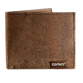 Corkor - Men Gift Ideas, Mens Trifold Wallet, Vegan Wallet from Corkor