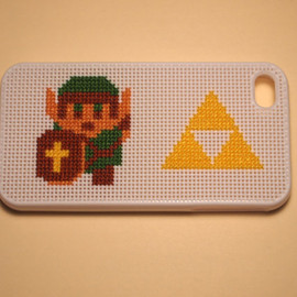 Link with Triforce iPhone 4 or 4S Case