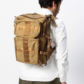 "BRIEFING - BRIEFING×BEAMS PLUS / 別注 ""3WAY BAG""COYOTE"