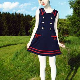 MissPatina - MissPatina  sailor dress.