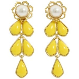 kate spade NEW YORK - New York Sweet Zinnia Chandelier Earrings