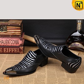CWMALLS - CWMALLS® Mens Designer Leather Dress Loafers CW751531