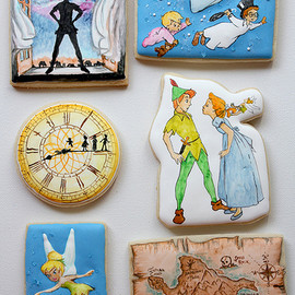 Disney - peter pan cookies