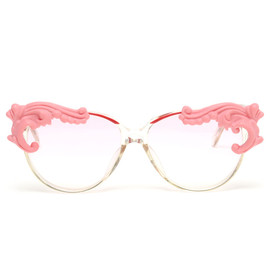 MOO - 'DESIRE 2' VINTAGE SUNGLASSES WITH PORCELAIN TIPS
