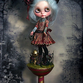 Blythe - Gwendoline & Cecil | by Rebeca Cano ~ Cookie dolls