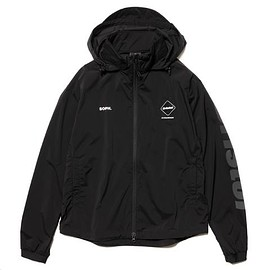 F.C.R.B., SOPHNET. - Stretch Light Weight Hooded Blouson - Black