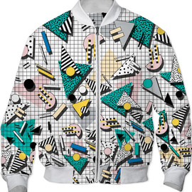 Print All Over Me - Walala Bomber Jacket