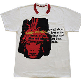 """Andy Warhol x COMME des GARCONS """"Golden Week"""" Capsule Collection"""