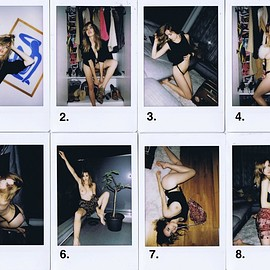 danielle sharp - Polaroids Set 1