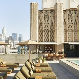 Ace Hotel LA - Rooftop swimming pool, Ace hotel, LA